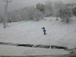 Kids sledding!