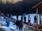 Snow tubing at Jonas Ridge Tubing