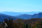 View into Linville Gorge from property