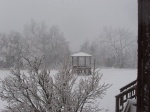 Gazebo In Winter