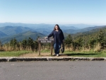 View from the top of Mt Mitchell