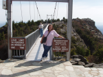 Swinging Bridge - Grandfather Mountain