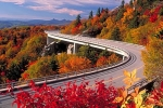 Linville Viaduct in Fall