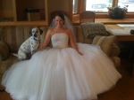 The Bride & her Dog