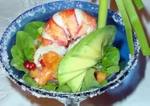 Lobster Margarita with Avocado