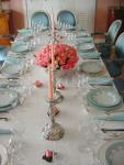Formal Dinning Table Setup