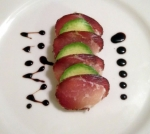 Speck Avocado Balsamic Syrup
